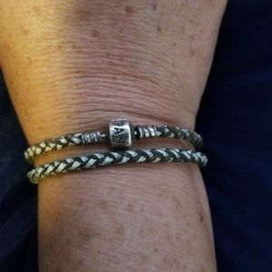 Pandora Jewelry - Authentic Pandora Cord Bracelet